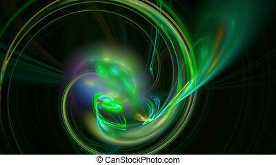 Bright green pattern abstract motion background - Bright...