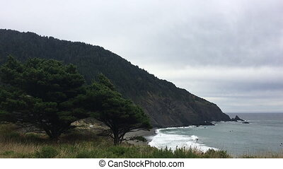 Oregon Coast Landscape near Highway 101