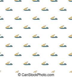 Jet ski pattern, cartoon style - Jet ski pattern. Cartoon...