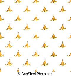 Banana peel pattern, cartoon style - Banana peel pattern....