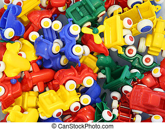 plastic toy cars for the happiness of young children