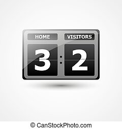 Scoreboard Vector Icon