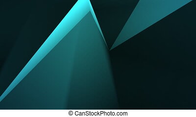 low polygonal dark rectangles moving background HD format