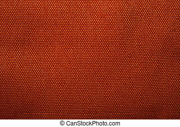 fabric texture orange gobelin for background