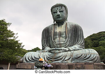 The Great Buddha in Kamakura, Japan