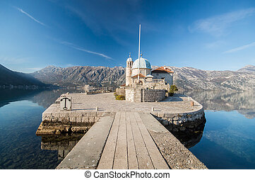 Church Our Lady of the Rocks in Perast - Church of Our Lady...