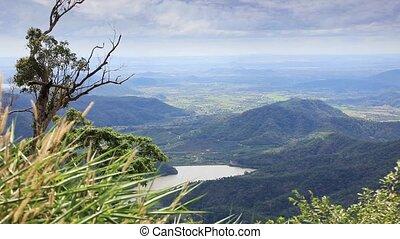 Vietnam mountainous landscape - Tropical landscape with...