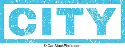 City Rubber Stamp - City text rubber seal stamp watermark....