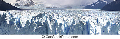 Perito Moreno glacier close to el Calafate. The Perito...