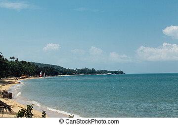 Coast Hotel Beachfront, asia. Blue sea - Coast Hotel...