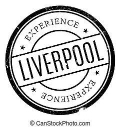 Liverpool stamp rubber grunge - Liverpool stamp. Grunge...