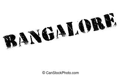 Bangalore stamp rubber grunge - Bangalore stamp. Grunge...