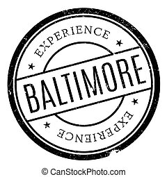 Baltimore stamp rubber grunge - Baltimore stamp. Grunge...
