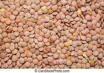 lentil background, texture - green lentil background,...