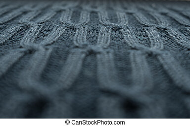 patterned knitted voluminous textile background or texture