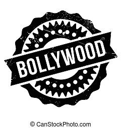 Bollywood stamp rubber grunge