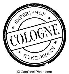 Cologne stamp rubber grunge - Cologne stamp. Grunge design...