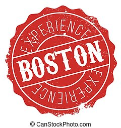 Boston stamp rubber grunge - Boston stamp. Grunge design...