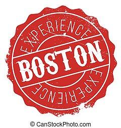 Boston stamp rubber grunge - Boston stamp. Grunge design...