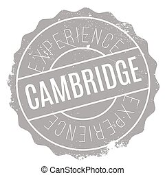 Cambridge stamp rubber grunge - Cambridge stamp. Grunge...