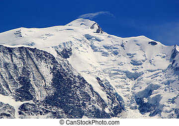 Mont-Blanc massif, France