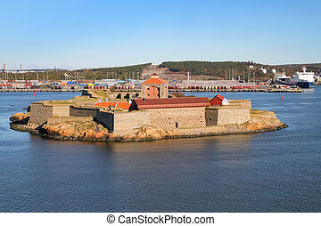 Gothenburg archipelago - Sea fortress Alvsborg or Elfsborg...