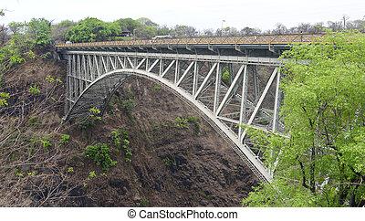 Bridge at the Victoria Falls