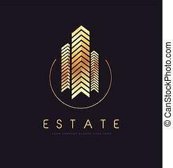 realestate_building - Real Estate Logo Design. Building Logo...