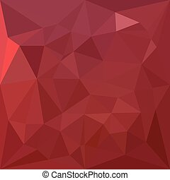 Amaranth Purple Abstract Low Polygon Background - Low...