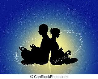 cosmic energy - illustration of cosmic energy