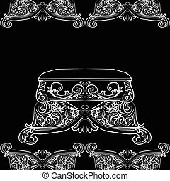 Royal Baroque Vector Classic chair