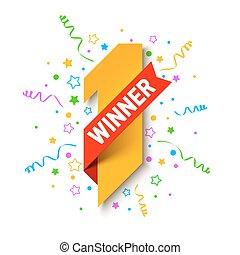 First winner