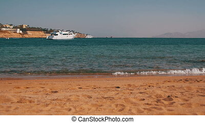 Beach in Egypt. Resort Red Sea Coast - EGYPT, SOUTH SINAI,...