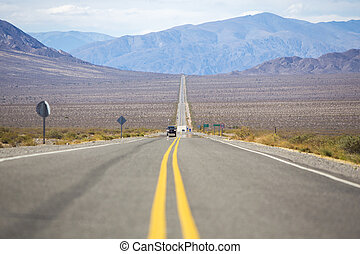 "Famous road ""Ruta 40"" North Argentina - Straight Famous..."