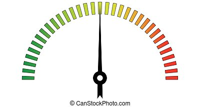 template meter with color scale - template meter with color...