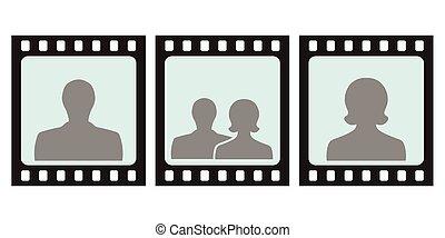 frame for photo slide