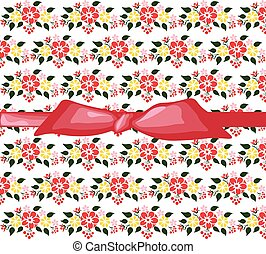 Spring colorful flowers background