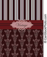 Vintage damask classic pattern - Vintage damask classic...