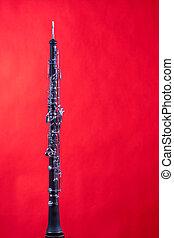 雙簧管, 被隔离, 上, 紅色