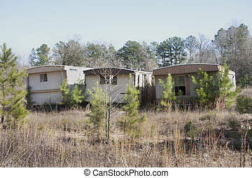 Old Mobile Homes Trailer Houses