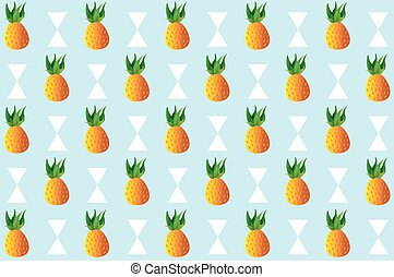 Pineapple Fruit pattern