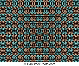 Abstract Ornament Pattern background. Vector