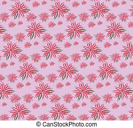 Spring summer ornament pattern background. Floral blossom...