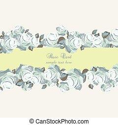 Roses Vintage Invitation card