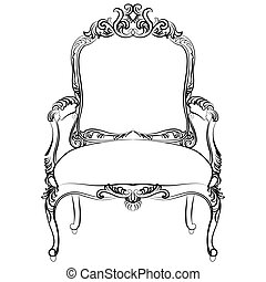 Royal Baroque Vector Classic chair furniture