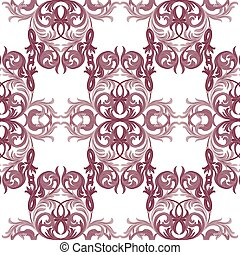 Vector Damask Pattern. Elegant Classic acanthus texture for...