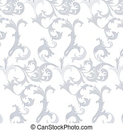 Acanthus leaf ornament pattern - Acanthus leaf ornament...