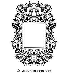 Imperial Baroque Rococo frame - Vintage Imperial Baroque...