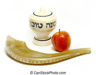 Happy Jewish New Year - Symbols of Jewish New Year