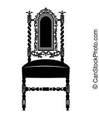 Classic luxury style chair
